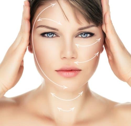 huidverstrakking gezicht, facelift, resculpt clinic