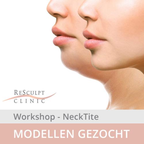 modellen gezocht, neklift behandeling, necktite workshop